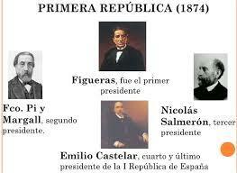 Comienza la presidencia de la República Emilio Castelar