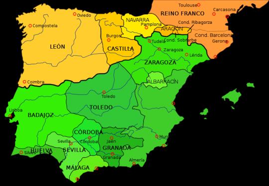 Taifas e Imperios Norteafricanos