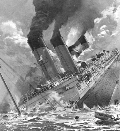 Enfonsament RMS Lustiana