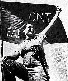 Fundación del sindicato anarquista Confederación Na de Trabajadores