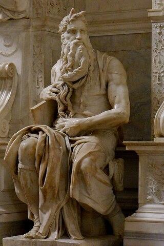 Escultura Moises