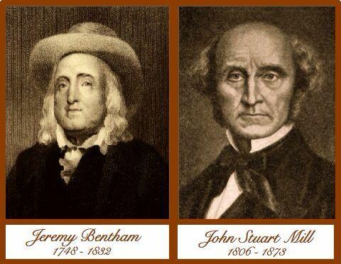JEREMY BENTHAM AND JOHN STUART MILL