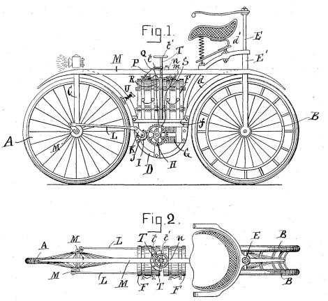 Patentan la moto eléctrica