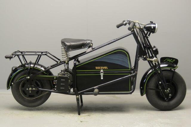 Primera moto eléctrica producida en serie
