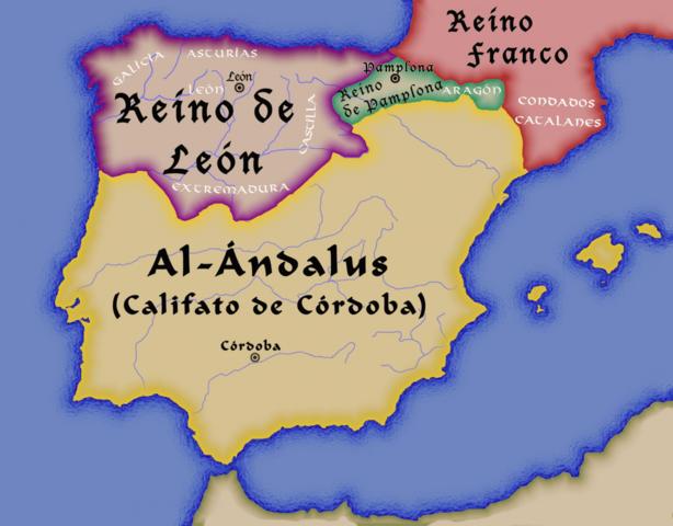 El reino de Asturias pasa a llamarse reino de León
