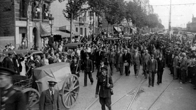 Guerra civil en Cataluña.