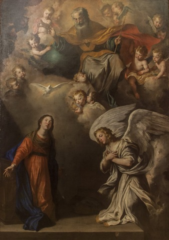 Affreschi di Pietro Novelli (1641-1646)