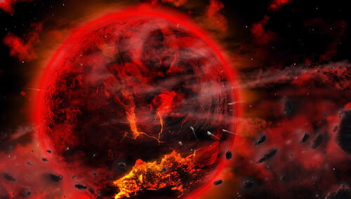 Formación del planeta tierra - 4 BLN 540 MLN YRS AGO