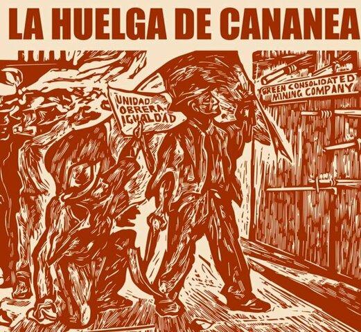 Inicia la huelga de Cananea