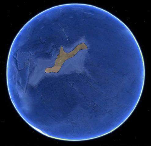Tierra firme - 2BLN 500MLN YRS AGO