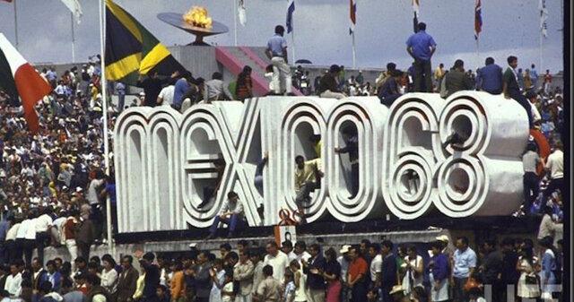 Inauguración los Juegos Olímpicos en México