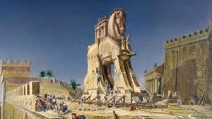 la conquista di Troia