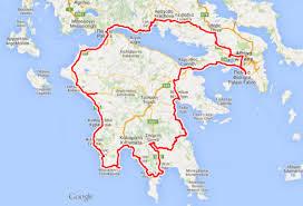 Verso il Peloponneso