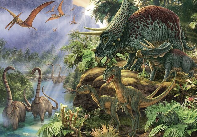 ¡Dinosaurios! - 231 MLN YRS AGO