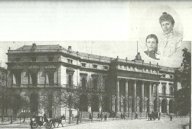 Se inaugura el Palacio de la Bolsa de Madrid