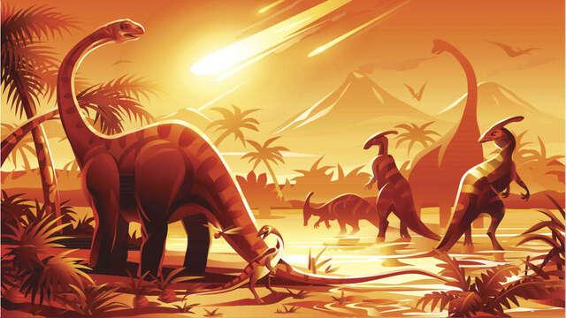 Fin de los dinosaurios - 65 MLN YRS AGO
