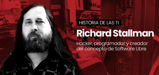 Richard Stallman crea el proyecto de GNU esto con el objetivo de crear un sistema operativo libre