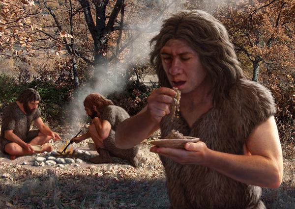 Neandertales - 1 MLN YRS AGO