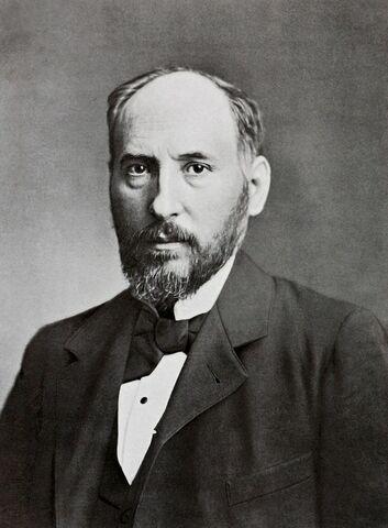 Santiago Ramón y Cajal, catedrático en la Universidad de Madrid.