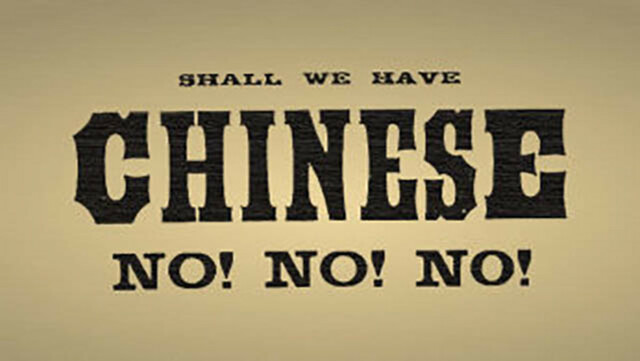 Se instituye la Chinese Exclusion Law