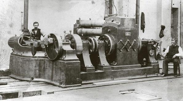 Primera central eléctrica