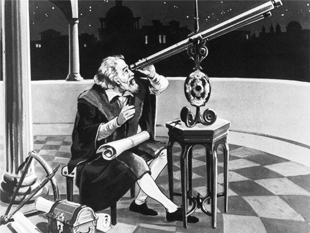Galileo construyó el telescopio para observar el cielo