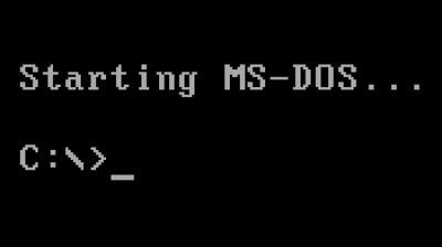 Aparición de MS-DOS