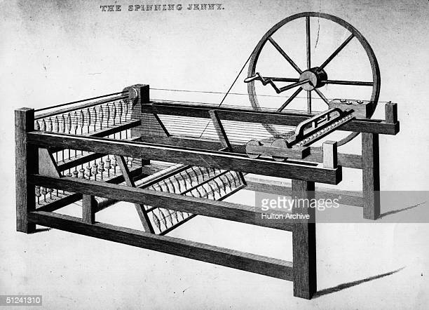 James Hargreaves inventa la Spinning Jenny