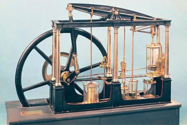James Watt inventa la máquina de vapor