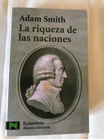 Adam Smith publica La riqueza de las naciones