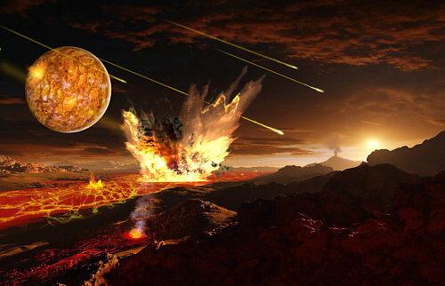 3.900 Millones de Años - Formación de la Tierra