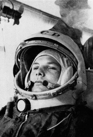 Primer humano en el espacio