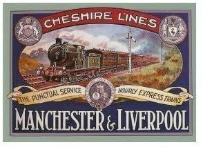 Primer ferrocarril entre Liverpool yManchester