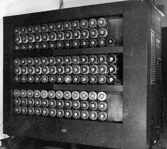La máquina giratoria