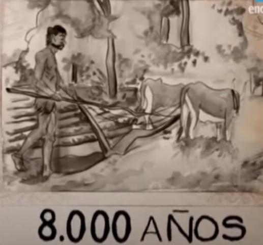 Hace 8.000 años...