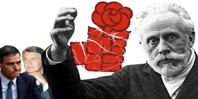 Fundación del PSOE por Pablo Iglesias Posse