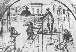 Durante la primera revolucion industrail se fabricaban en forma manual, por lo que eran necesarios hombres diestros y hábiles.