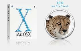 Mac Os X 10 (Cheetah)