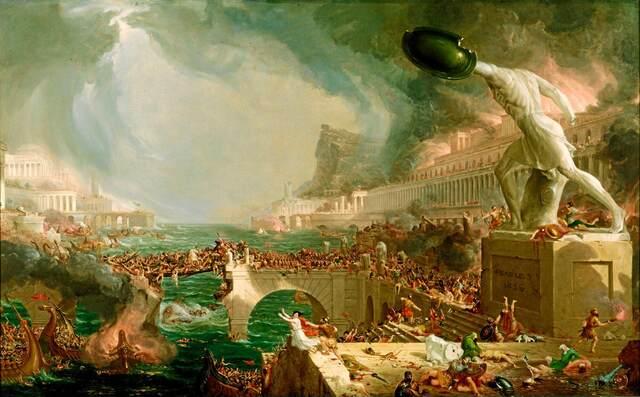 Caída de Roma