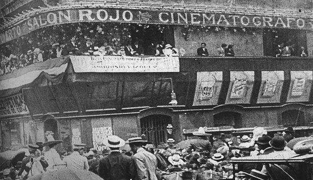 Se abre la primera sala de cine mexicano