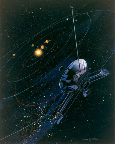 Sobrevuelo a Saturno