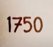 Año 1750