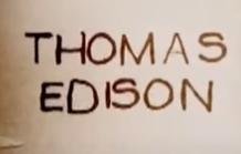 Thomas Edison y sus inventos (1847- 1931)