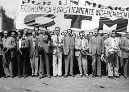 Creación de confederación de Trabajadores de Mexico