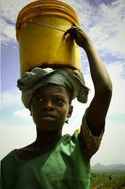During this time, women and girl don't have enough extra time to do they own things. Need to spend that time collecting water, walking for a day every day like a girl name Nya.