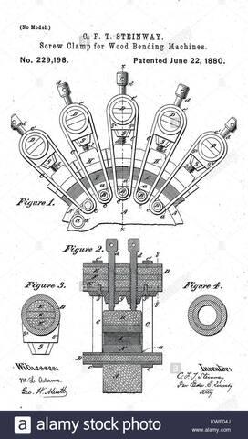 Wood bending patent