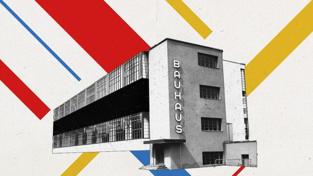 Inauguration of the Bauhaus in Weimar