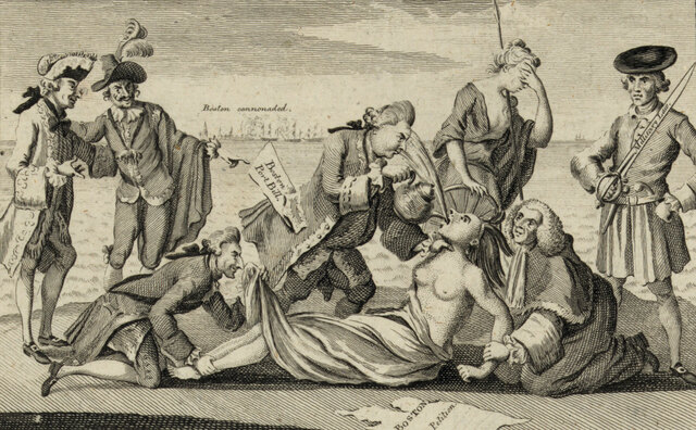 The Intolerable Acts (The Coercive Acts) are passed