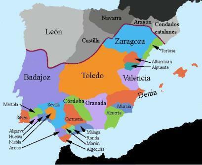 Cae el califato de Córdoba, que se divide en taifas