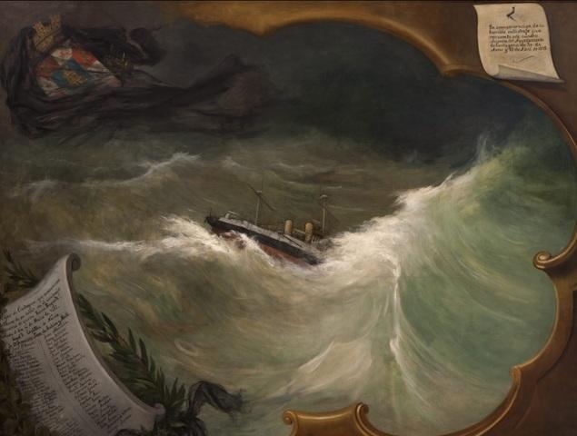 Naufragio del crucero de la Armada española Reina Regente